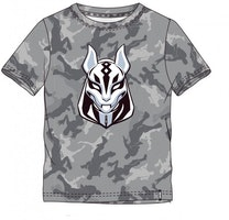 Fortnite T-shirt - Grå camo