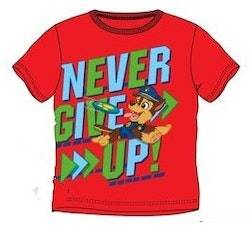 Paw patrol T-shirt - Never give up!
