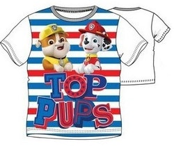 Paw patrol T-shirt - Top Pups randig