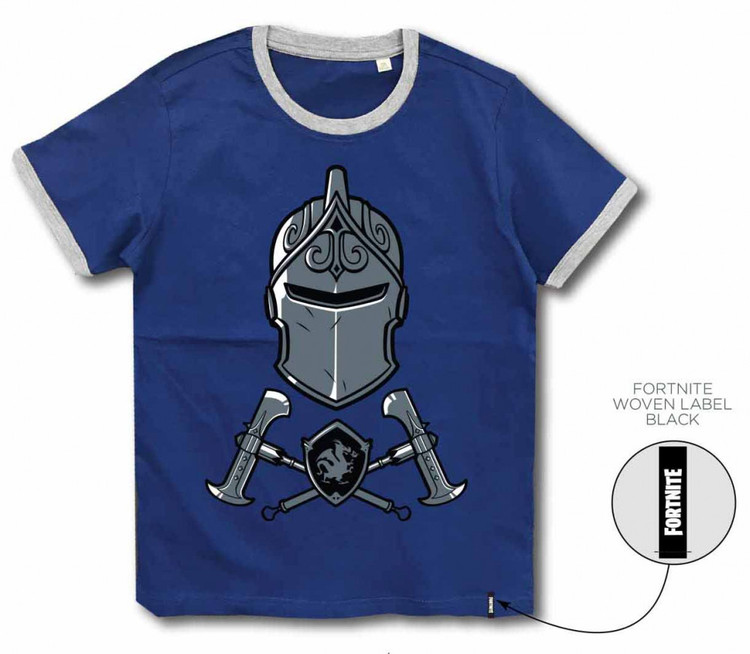 Fortnite T-shirt - The Knight - Navy blue