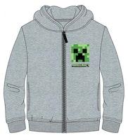 Minecraft  Hoodie med dragkedja  & luva