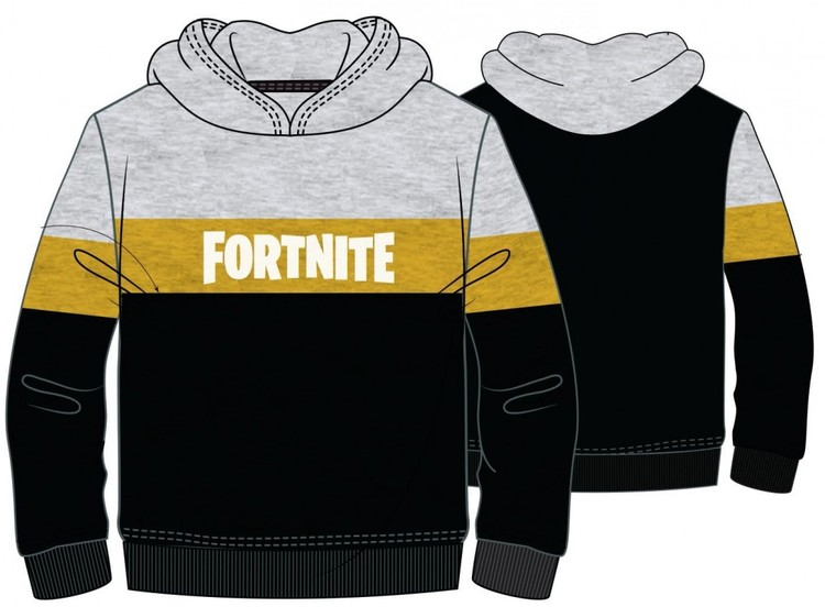 Fortnite Hoodie - Silver Gold Edition