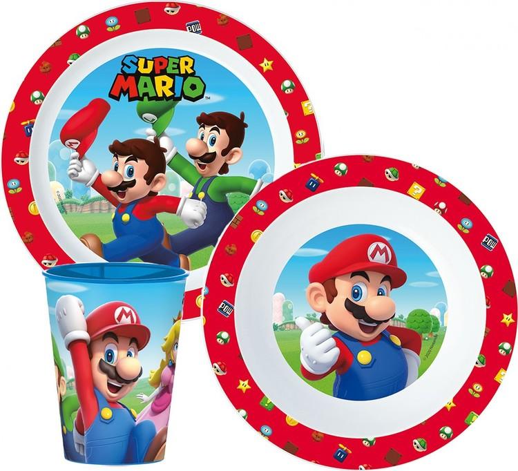 Super Mario bros  3 delat måltidsset