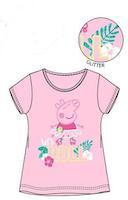 Greta Gris / Peppa pig T-shirt Glitter