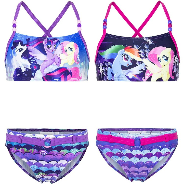 My little pony Bikini - Rainbow dash with friends