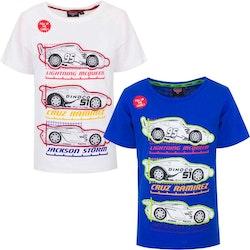 "Disney Cars T-shirt - ""Lyft på bilen"" tröja - Premium Quality"