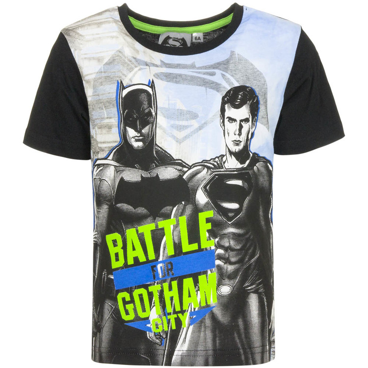 Batman VS Superman  T-shirt - Battle of Gotham