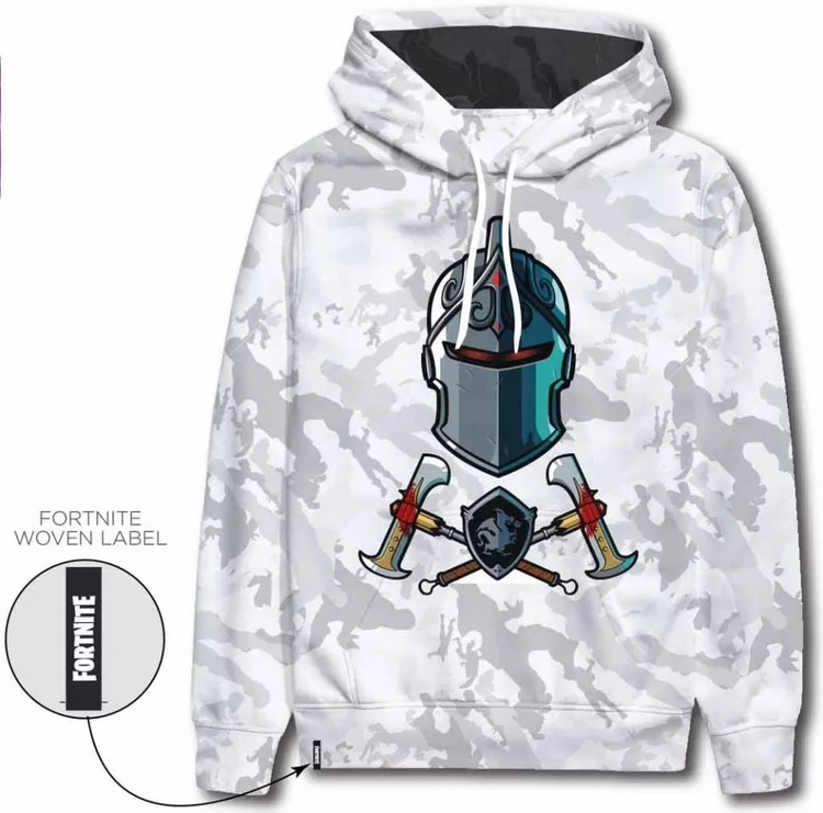 Fortnite Hoodie / Luvtröja - Black knight Camo/