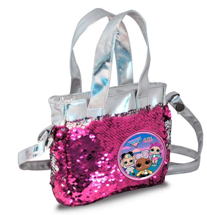 L.O.L surprise Shoppingbag med paljetter / Handväska