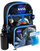 NASA Space - Skolstartskit, Skolväska med 5 delat set - Förhandsbokning