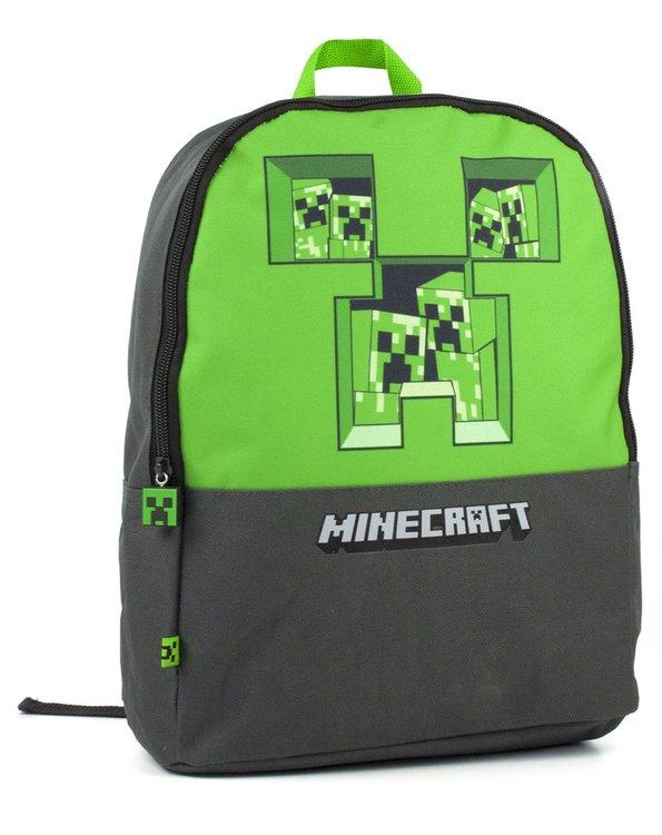 Minecraft Creeper - Skolväska  / Ryggsäck 35 cm