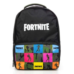 Fortnite Colored Dance Gaming Ryggsäck / Skolväska 46 cm