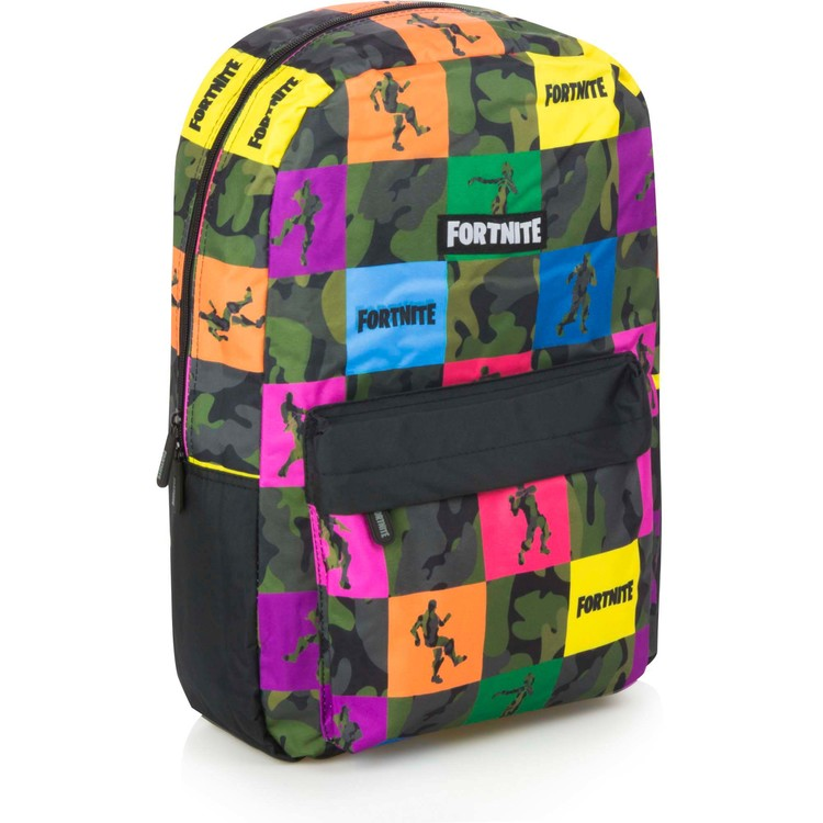 Fortnite Battle Royale Multicolor Gaming Ryggsäck / Skolväska 45 cm