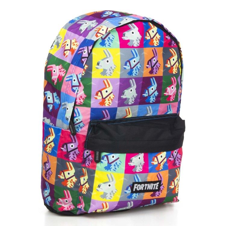 Fortnite Llama Color Gaming Ryggsäck / Skolväska 40 cm