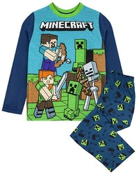 Minecraft pyjamas - Steve & Creeper