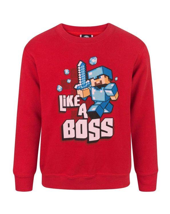 Minecraft Sweatshirt - Like a boss
