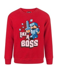 Minecraft Sweatshirt - Like a boss