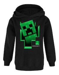 Minecraft Hoodie / Luvtröja Creeper Inside