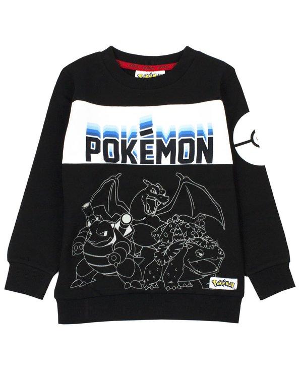 Pokemon Sweatshirt - Pokeball Neon