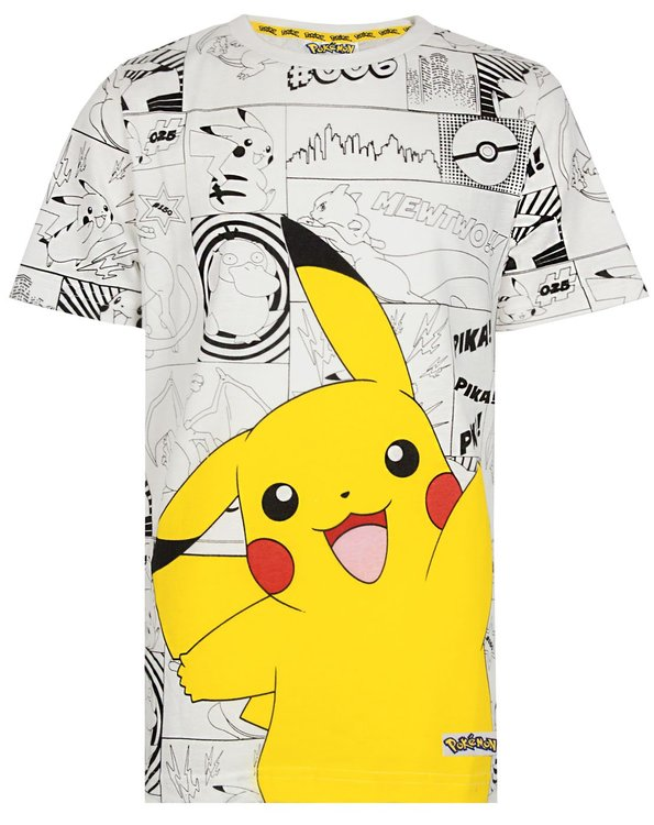 Pokémon Pikachu T-shirt - Pokeball