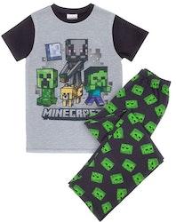 Minecraft Zombie Lång pyjamas