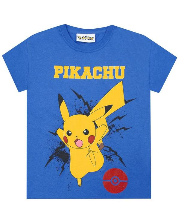 Pokemon T-shirt - Pikachu Bolt
