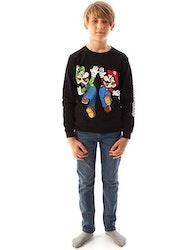 Super Mario Sweatshirt -  Mario & Luigi - Nintendo