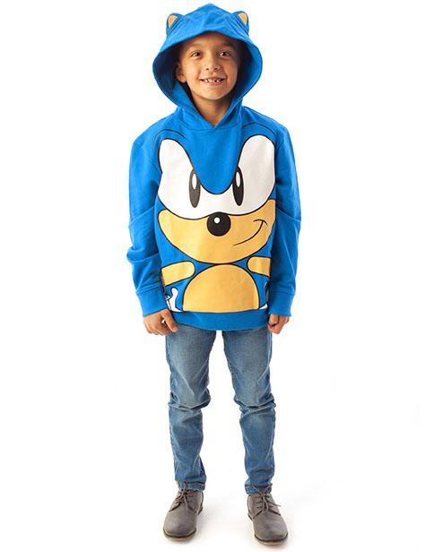 Sonic 3D Hoodie / Luvtröja med öron
