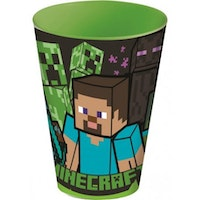 Stor Minecraft  Mugg / Glas 430 ml