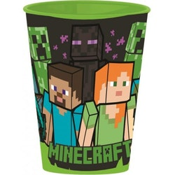 Minecraft Mugg / Glas 260 ml