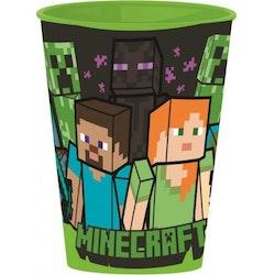 Minecraft Mugg / Glas 260 ml