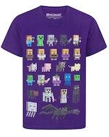 Minecraft T-shirt  Sprites - Purple