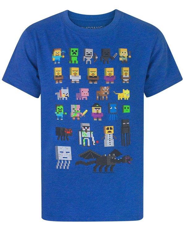 Minecraft T-shirt - Sprites