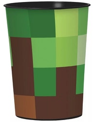 TNT pixel Stor Minecraft Party Mugg / Glas 473 ml
