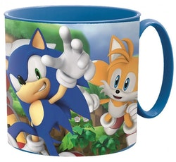 Sonic the hedgehog mugg 265 ml
