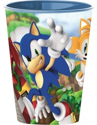Sonic the hedgehog Mugg / Glas 260 ml