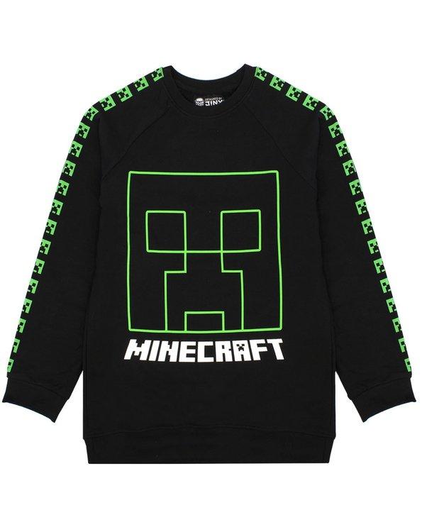 Minecraft Sweatshirt Creepers Face