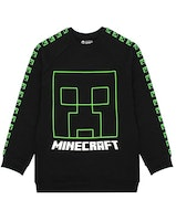 Minecraft Sweatshirt Creepers Face