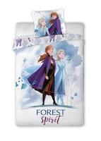 Stort Disney Frost Påslakan - Forest spirit