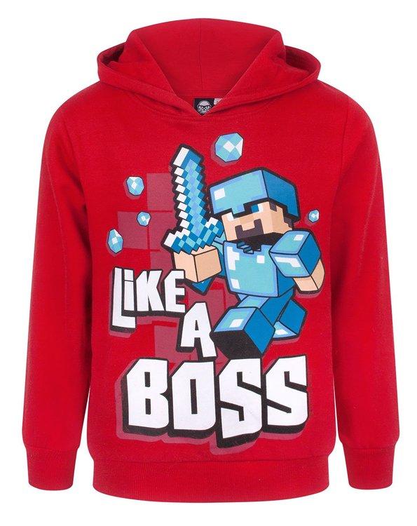 Minecraft Hoodie - Like a boss