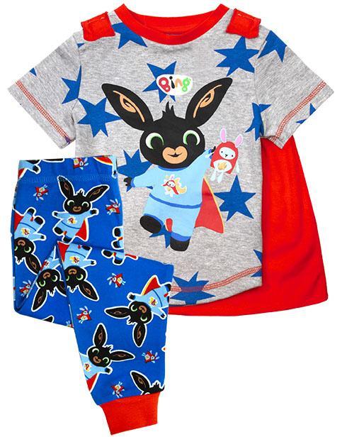 Bing Pyjamas med Cape - SuperBing!