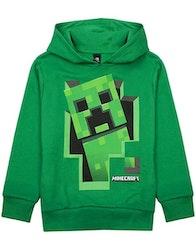 Minecraft Hoodie / Luvtröja Green Creeper Inside