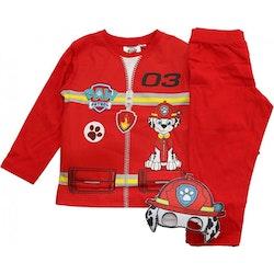 Paw patrol Pyjamas - Marshall med utklädningsmask