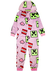 Minecraft - Creeper face - TNT Onesie