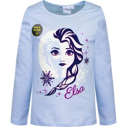 "Disney Frost  / Frozen Tröja - Elsa ""Glow in the dark"""