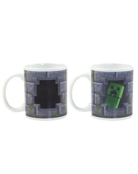 Minecraft Creeper  Mugg - Heat changing