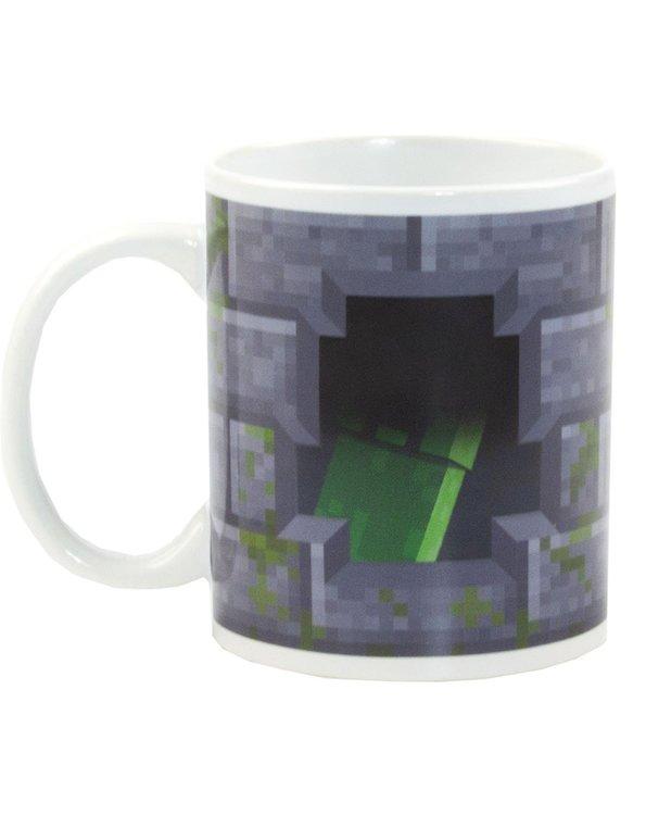 Minecraft Creeper  Mugg - Heat changing