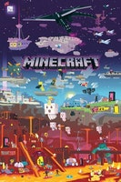 Minecraft World Beyond - Poster 61x81 cm