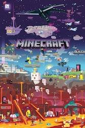 Minecraft World Beyond - Poster 61x81 cm