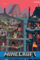 Minecraft World - Poster 61x91 cm